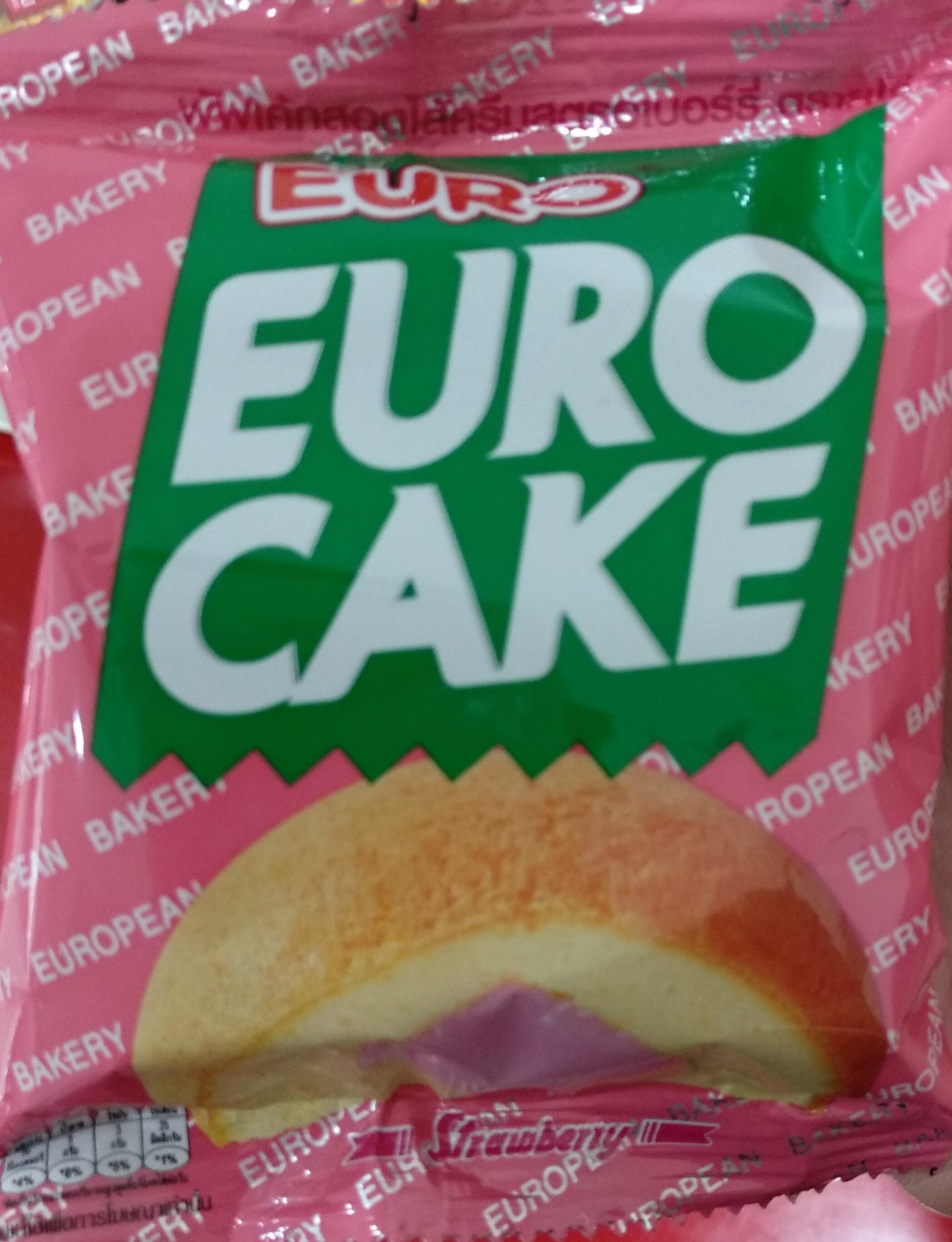 ยูโร่เค้กครีมสตรอเบอร์รี่ - Produit - th
