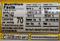 Ellse - Informations nutritionnelles - en