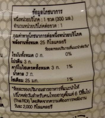 น้ำบี วอเตอร์ - Informations nutritionnelles - th