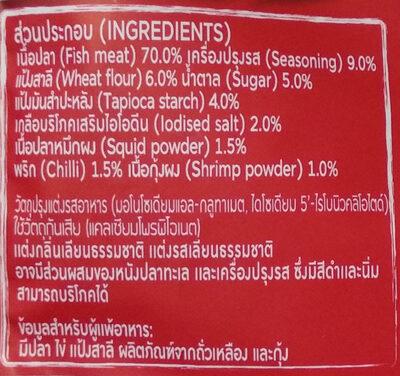 Fish Sheet - Ingredients