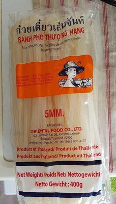 Vermicelle Riz 400G 05 MM Oriental - Produkt - fr