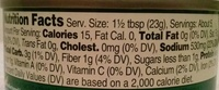 Maesri Green Curry Paste - Nutrition facts