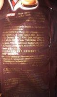 Cappuccino Candy Bag - Ingredienti - ca