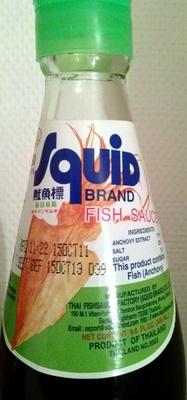 Sauce poisson (NUOC MAN) - Product
