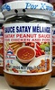 Satay Peanut Sauce For Chicken And Pork - Produit