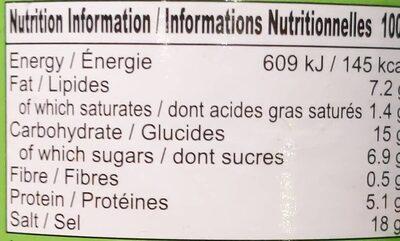 Pho Préparation Soupe Boeuf 227G - Nutrition facts - fr
