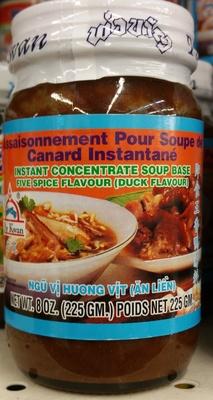 Assaisonnement pour soupe de canard instantané - Product