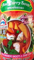 Por Kwan, Red Curry Soup - Product