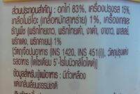 สเต็กอกไก่โมชิโอะ - Ingrédients - th
