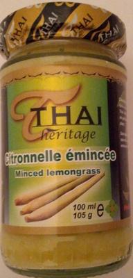 Citronnelle émincée - Product
