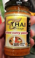 Thai Yellow Curry Paste - Product