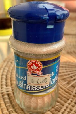 Iodized salt - Product - fr