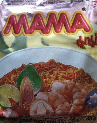 Nouille chinoise crevette - Voedigswaarden
