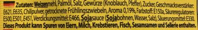 Instantnudelsuppe orientalischer Art mit Hühnchengeschmack - Ingredienti - de
