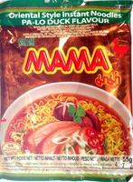 Nouilles instantanées au goût de canard Pa Lo - 55 g - Mama - Produit - fr