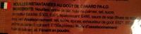 Nouilles instantanées au goût de canard Pa Lo - 55 g - Mama - Ingrédients - fr