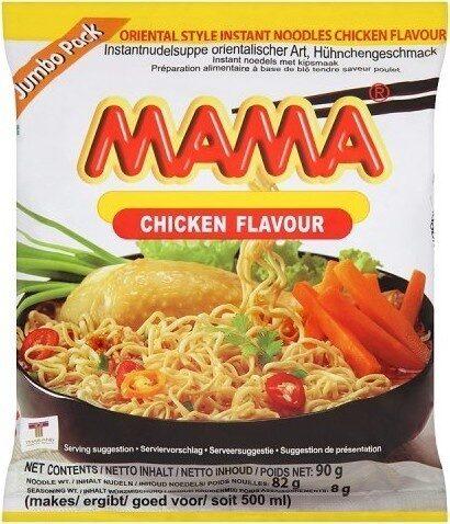 Oriental Style Instant Noodles Chicken Flavour Jumbo Pack - Produit - fr