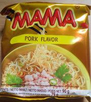 Mama Nouille instantanée saveur porc - Product