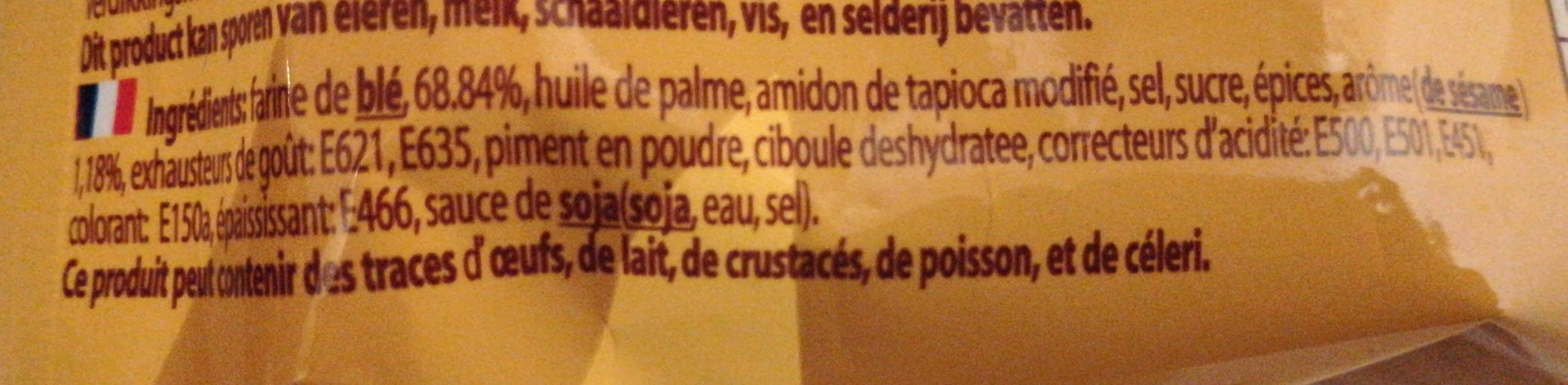 Mama Nouille instantanée saveur porc - Ingredients