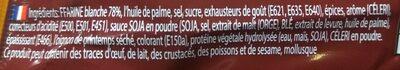 Mama Soupe Boeuf - Ingredients