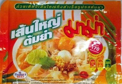 Instant Flat Noodles Tom Yum Flavour - Product - en