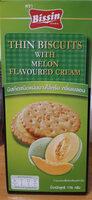 บิสกิตไส้ครีม กลิ่นเมลอน - Product - th