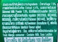 Espresso Nescafe - Ingrédients