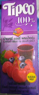 น้ำเชอร์รี่ เบอร์รี่ ผสมองุ่น - Product