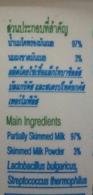โยลิดา - Ingredients