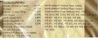 โรลวานิลาครีมสด - Ingrediënten - th