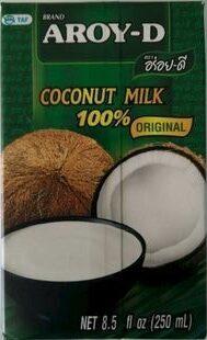 Aroy-D, 100% Coconut Milk, Original - Product - en