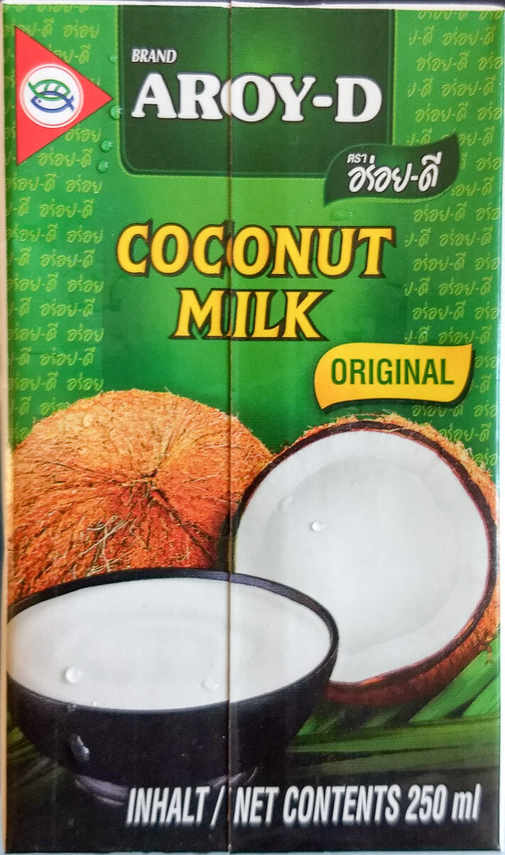 Aroy-D, 100% Coconut Milk, Original - Produit - fr