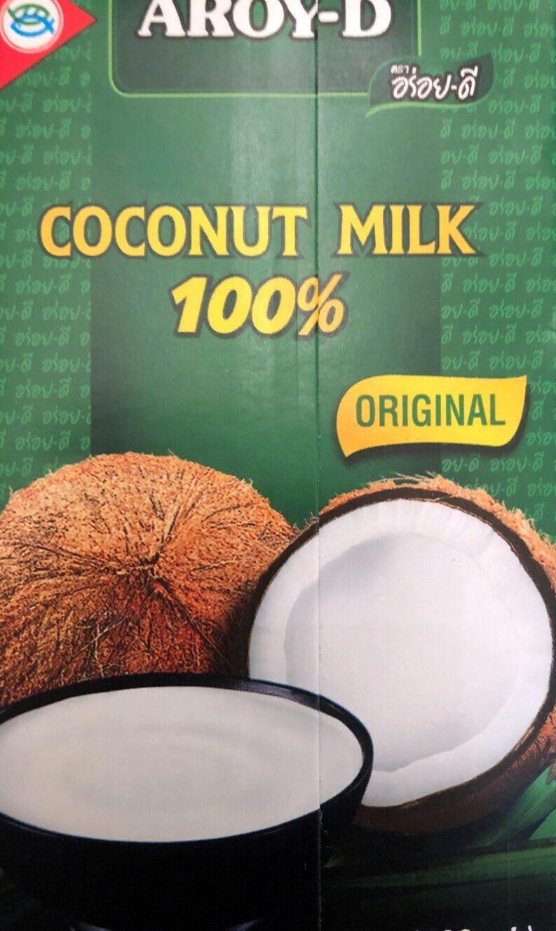 Coconut milk - Product