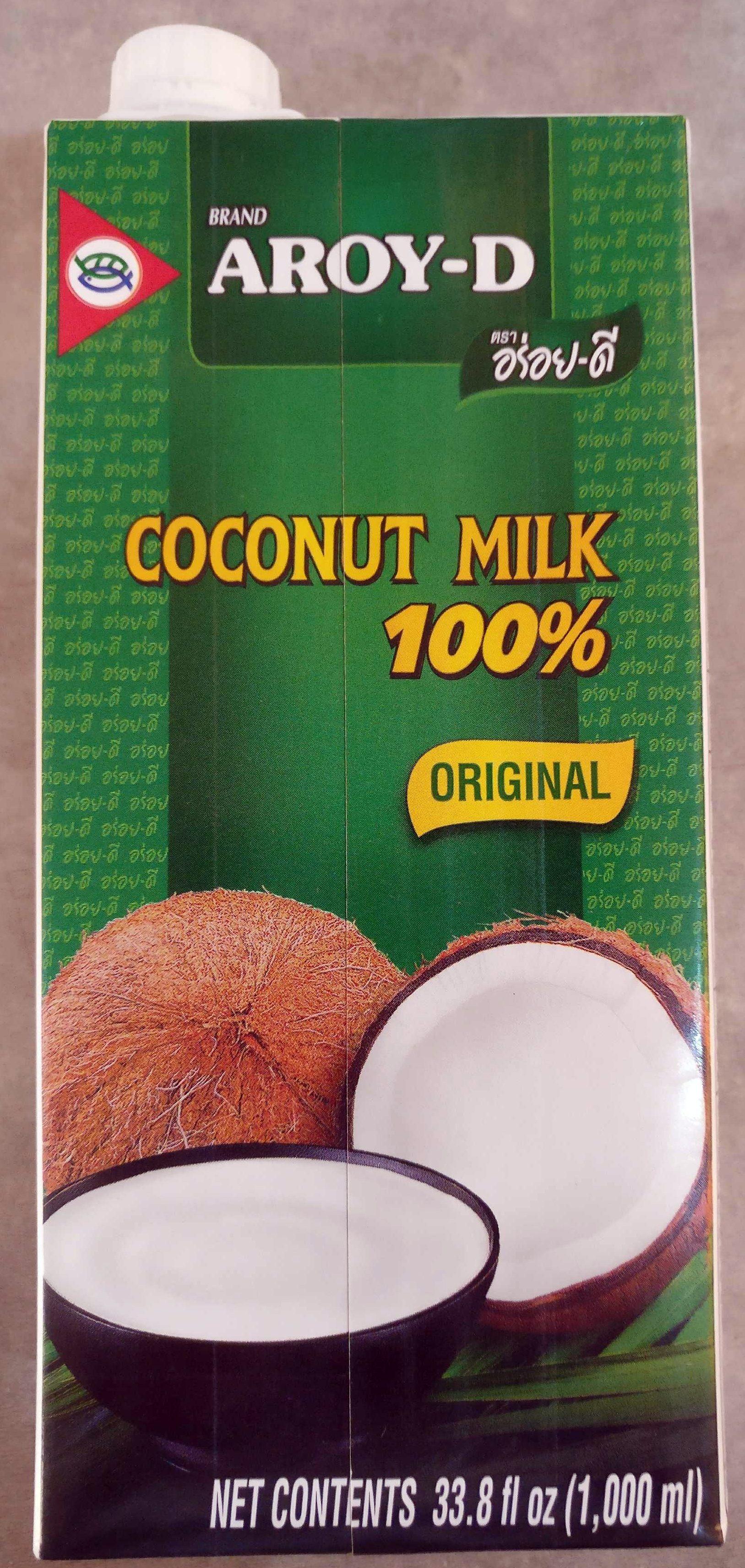 Lait De Coco AROY-D 1L - Produkt - en