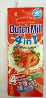 Dutch Mill Drinking Yoghurt Uht Milk Strawberry 180ML. Pack - Produit