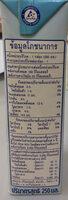 ดีน่าสูตรน้ำตาลน้อย ลดไขมัน - Nutrition facts