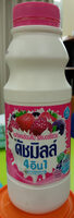 นมเปรี้ยวดัชมิลล์ 4-1 รสเบอร์รี่รวม - Product - th