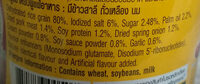 ข้าวต้มคัพรสหมูสับกระเทียมพริกไทย - Ingredients
