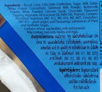 คอนเนตโต้กลิ่นวานิลลา - Ingredients