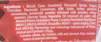 Cornetto Royale Strawberry - Ingredients