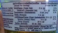 วอลล์ โคโค่ ฮาวาอิ - Informations nutritionnelles