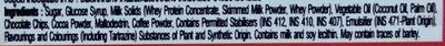 ไอศครีมรสมอคค่าและช็อกโกแลต - Ingredients - th