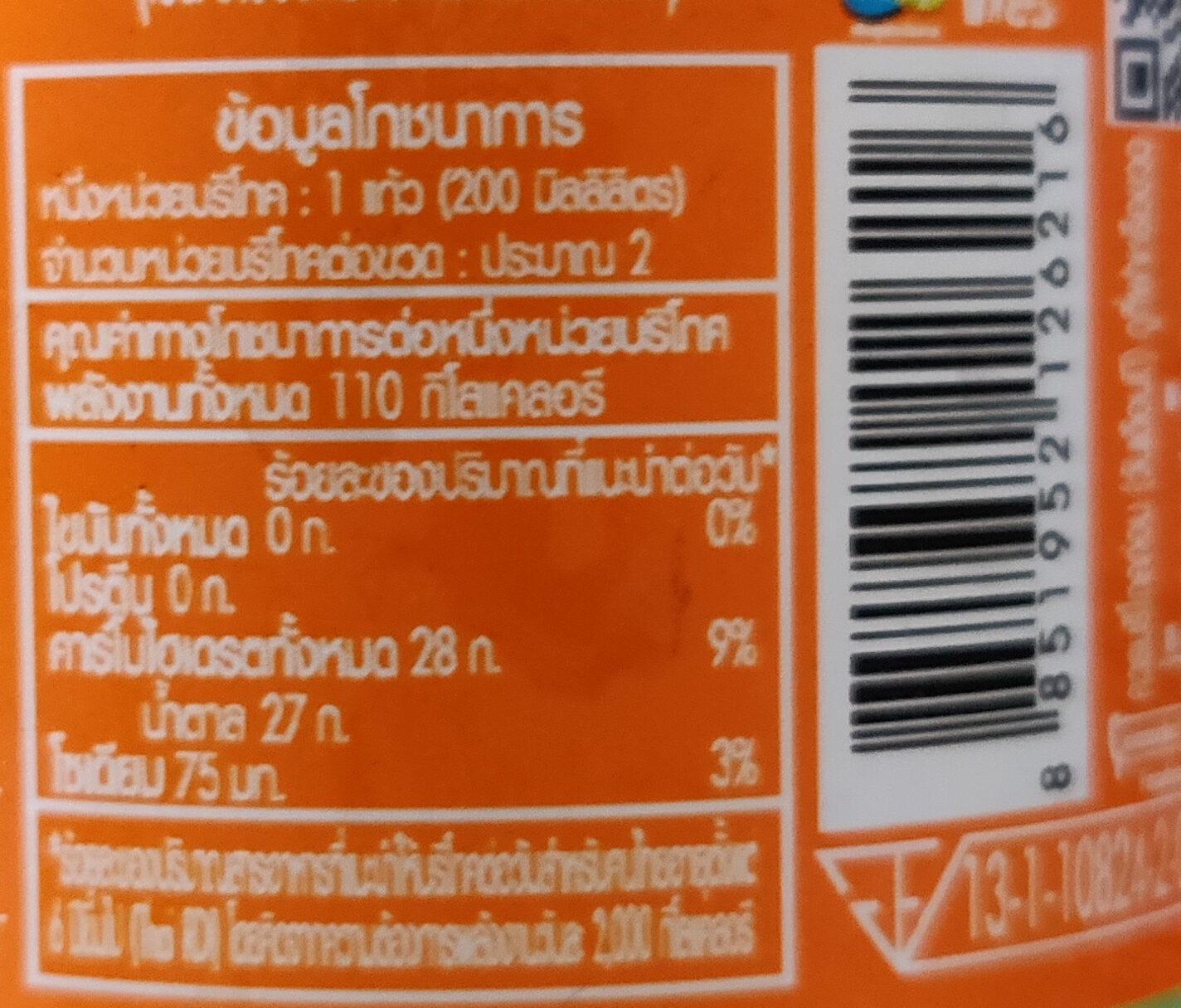 Est play melon bingsu - Informations nutritionnelles - en