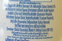 100 พลัส - Ingredients