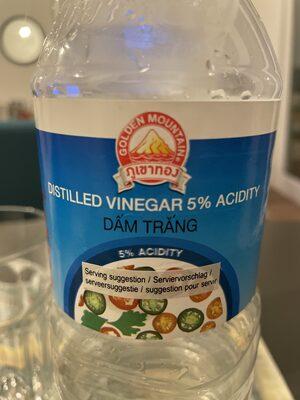 Distilled vinagre 5% acidity - Produkt - en