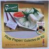 Rice Paper - Produkt