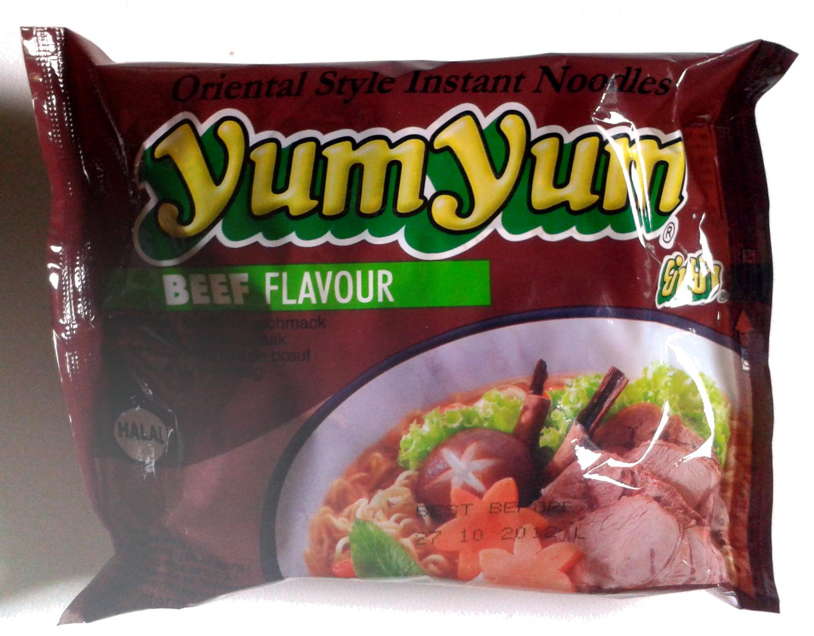YumYum Asian Cuisine Beef Flavour - Produkt