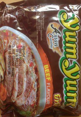 Noodles instantané goût boeuf - Product