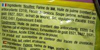 Yum Yum - Chicken Flavour - Ingrédients - fr