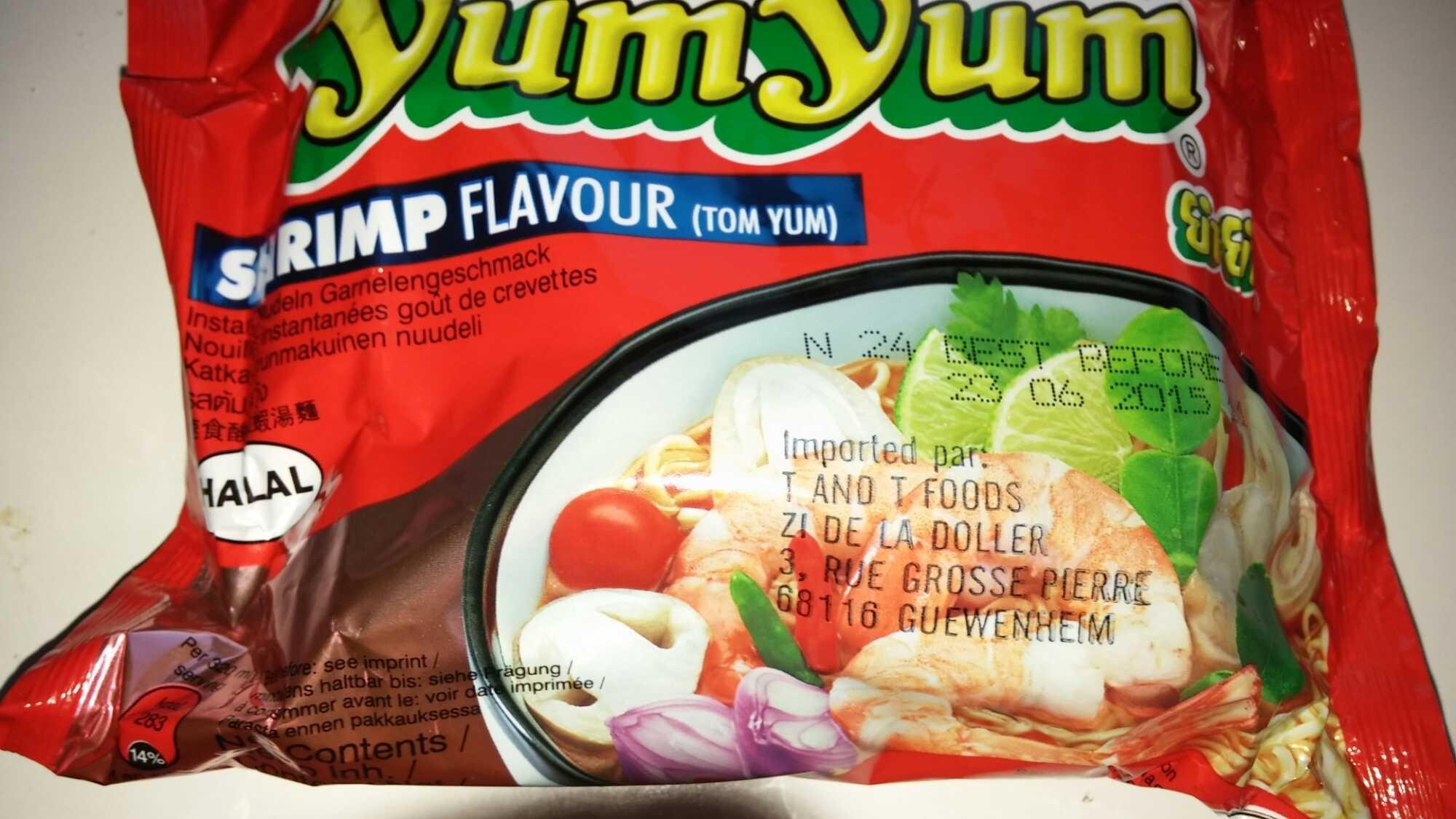 yum yum Asian Cuisine Shrimp Flavour - Prodotto